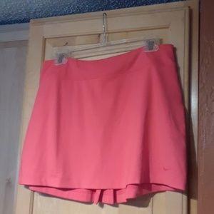 Nike Golf Dri-fit Pink Tennis Skirt